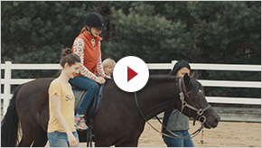 Ameritas Helps Fund Lovelane Therapeutic Horseback Riding