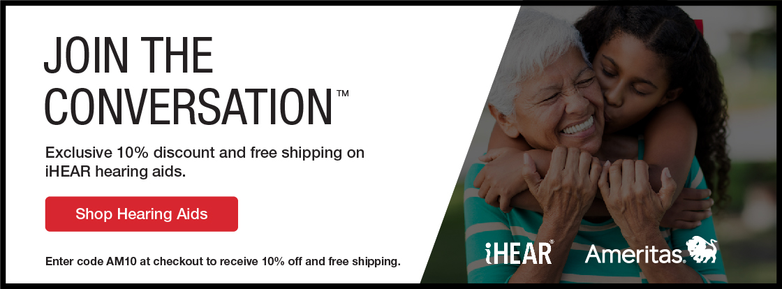Join the conversation. Exclusive 10% discount and free shipping on iHear hearing aids.
